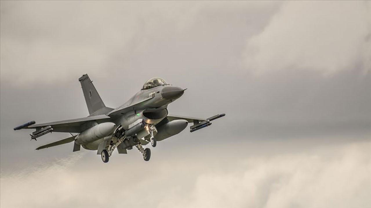 ABD'de F-16 düştü!