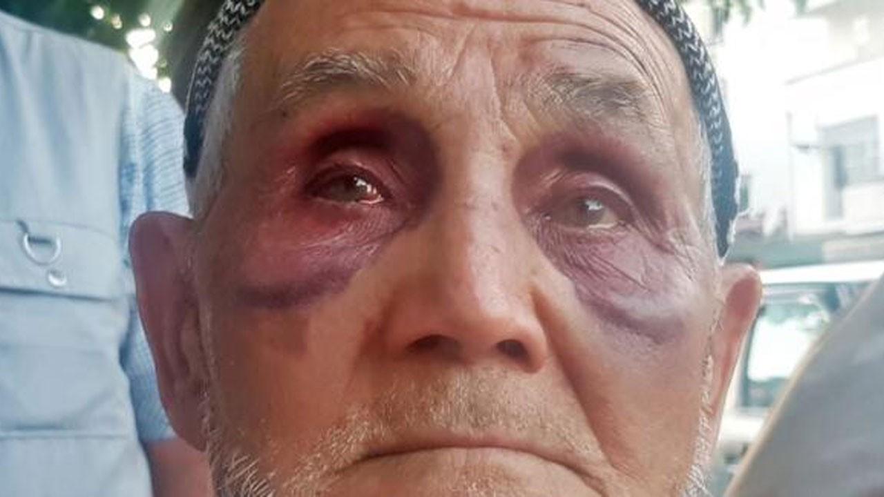 Babasını satırla öldüresiye dövdü