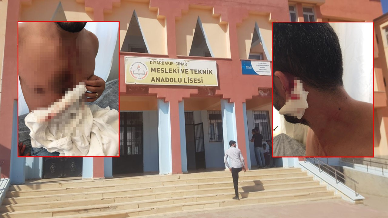 Okul kantininde dehşet!.. Öğrencilerinin gözü önünde defalarca bıçaklandı!
