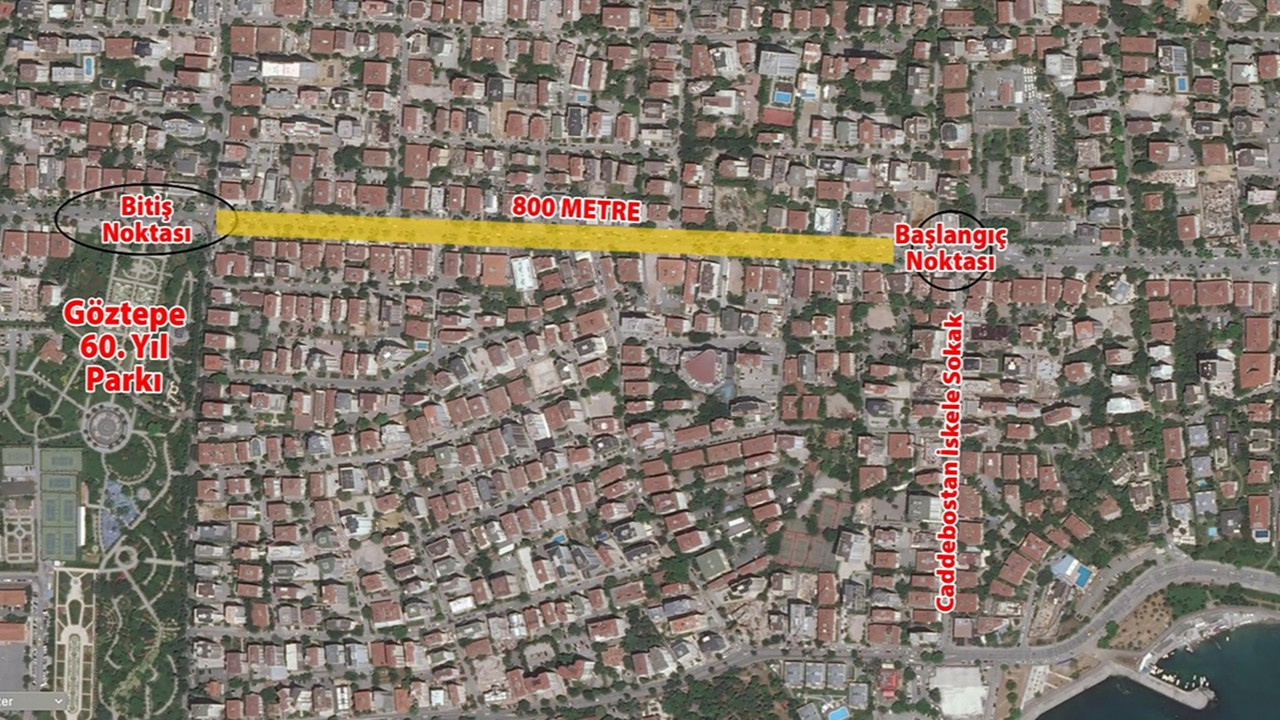 Bağdat Caddesi Pazar günü 2,5 saat trafiğe kapatılacak!