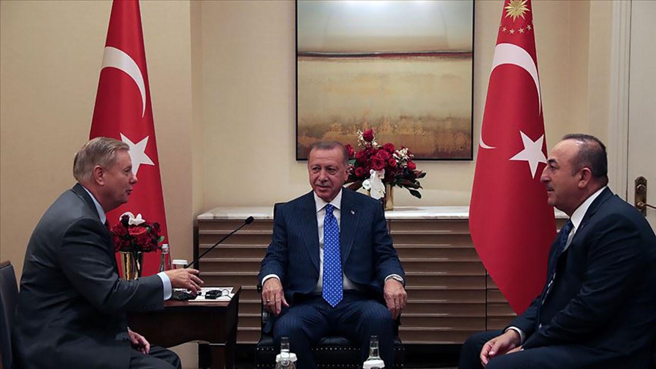 Erdoğan, ABD'li senatörle görüştü! F-35 açıklaması