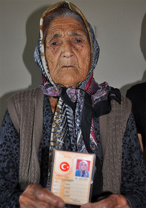 Fatma Traş 110 yaşında