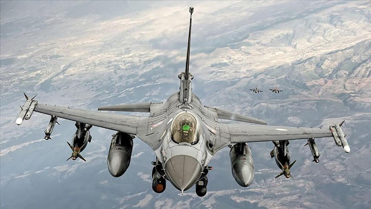 İki F-16'mız Suriye hava sahasına girdi