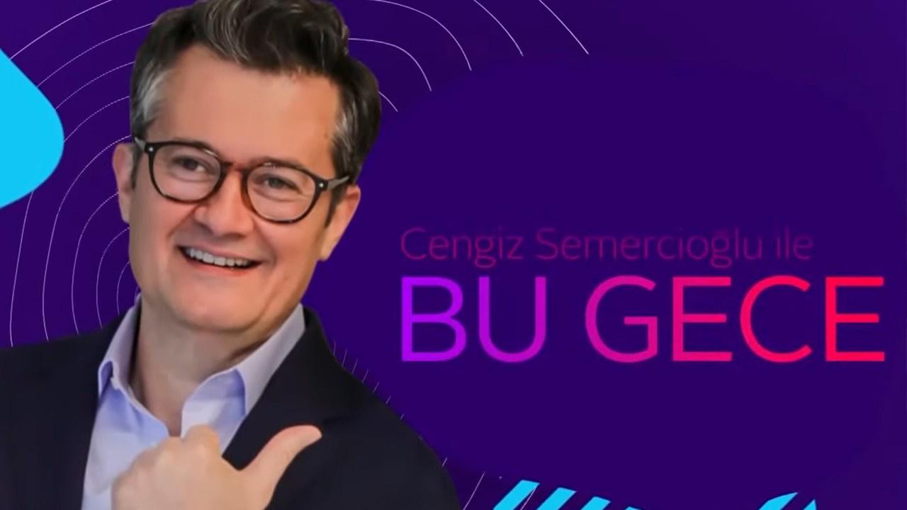 Cengiz Semercioğlu ile Bu Gece | 25 Eylül 2019
