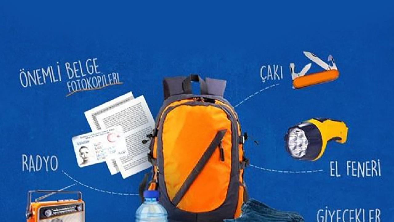 Deprem çantası nasıl hazırlanır? Deprem çantasında neler olmalı?