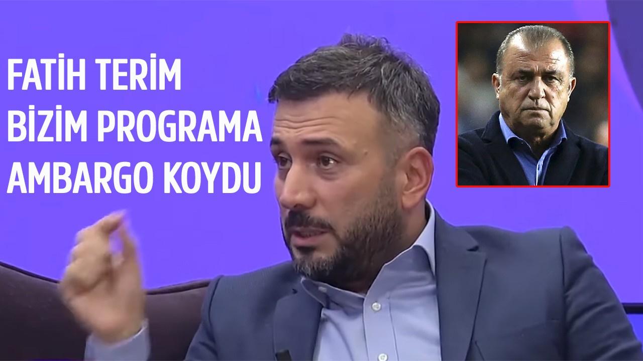 Ertem Şener: Terim bizim programa ambargo koydu