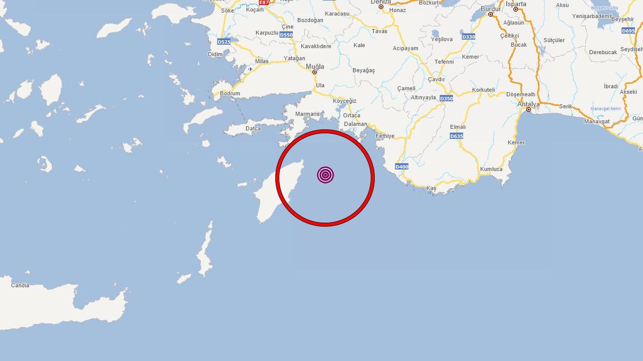 Akdeniz'de deprem üstüne deprem!