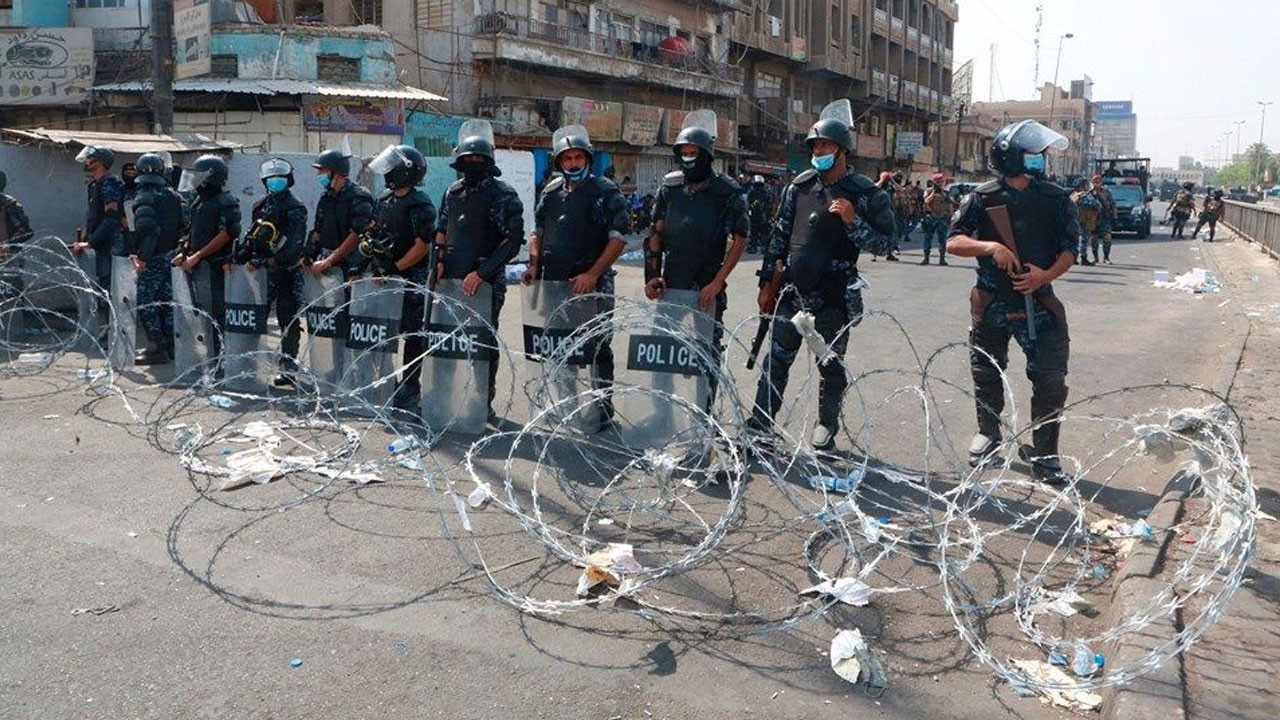 Bağdat'ta sokağa çıkma yasağı ilan edildi!