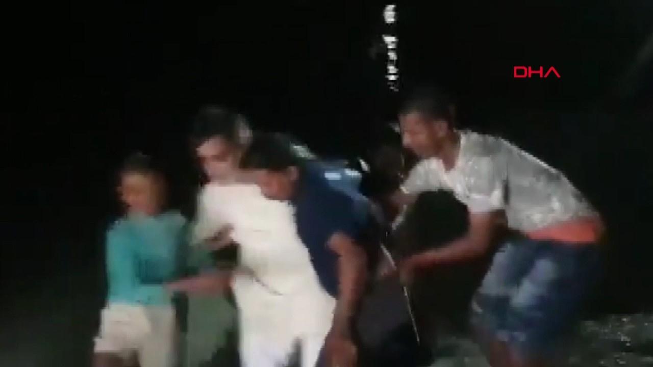 Hint milletvekili suya düştü!