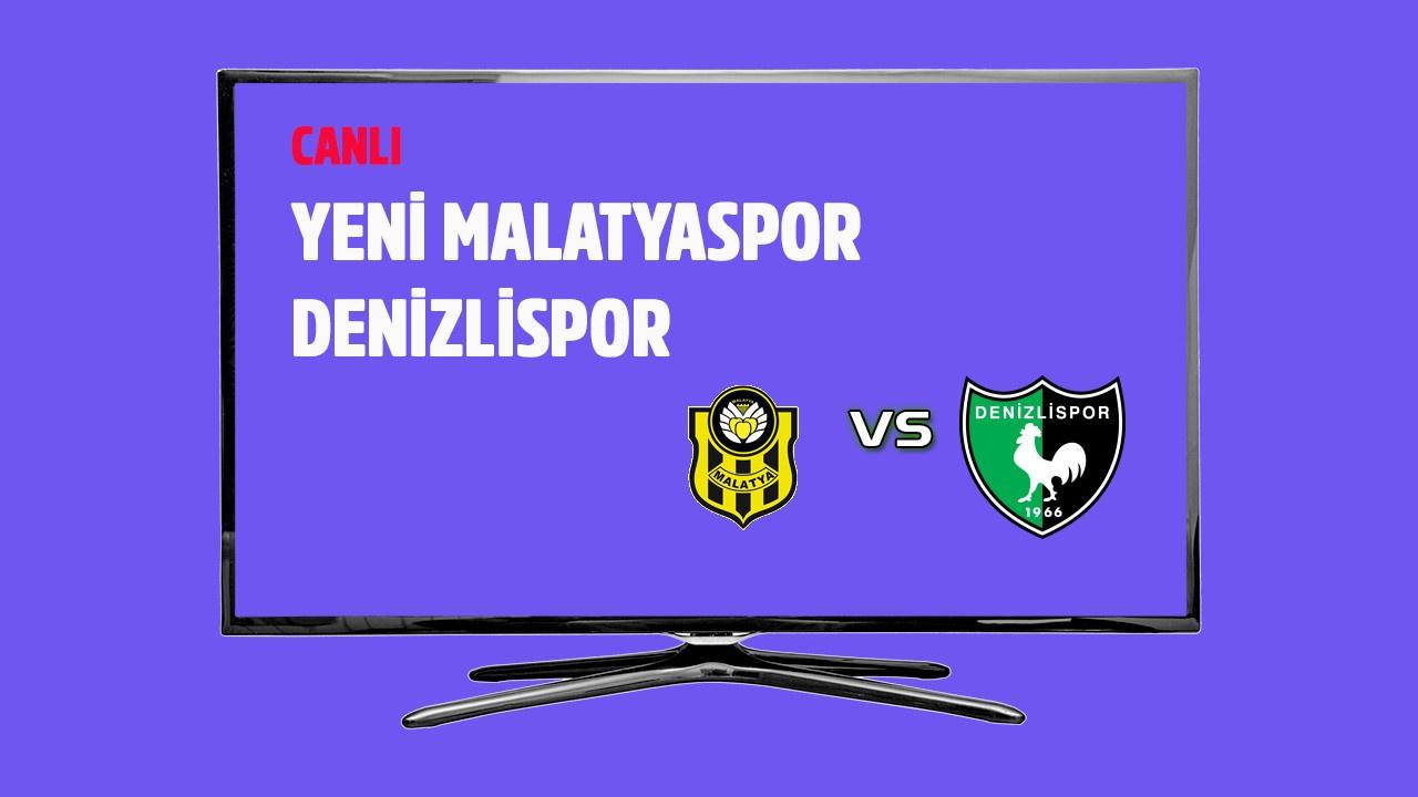 CANLI Yeni Malatyaspor - Denizlispor