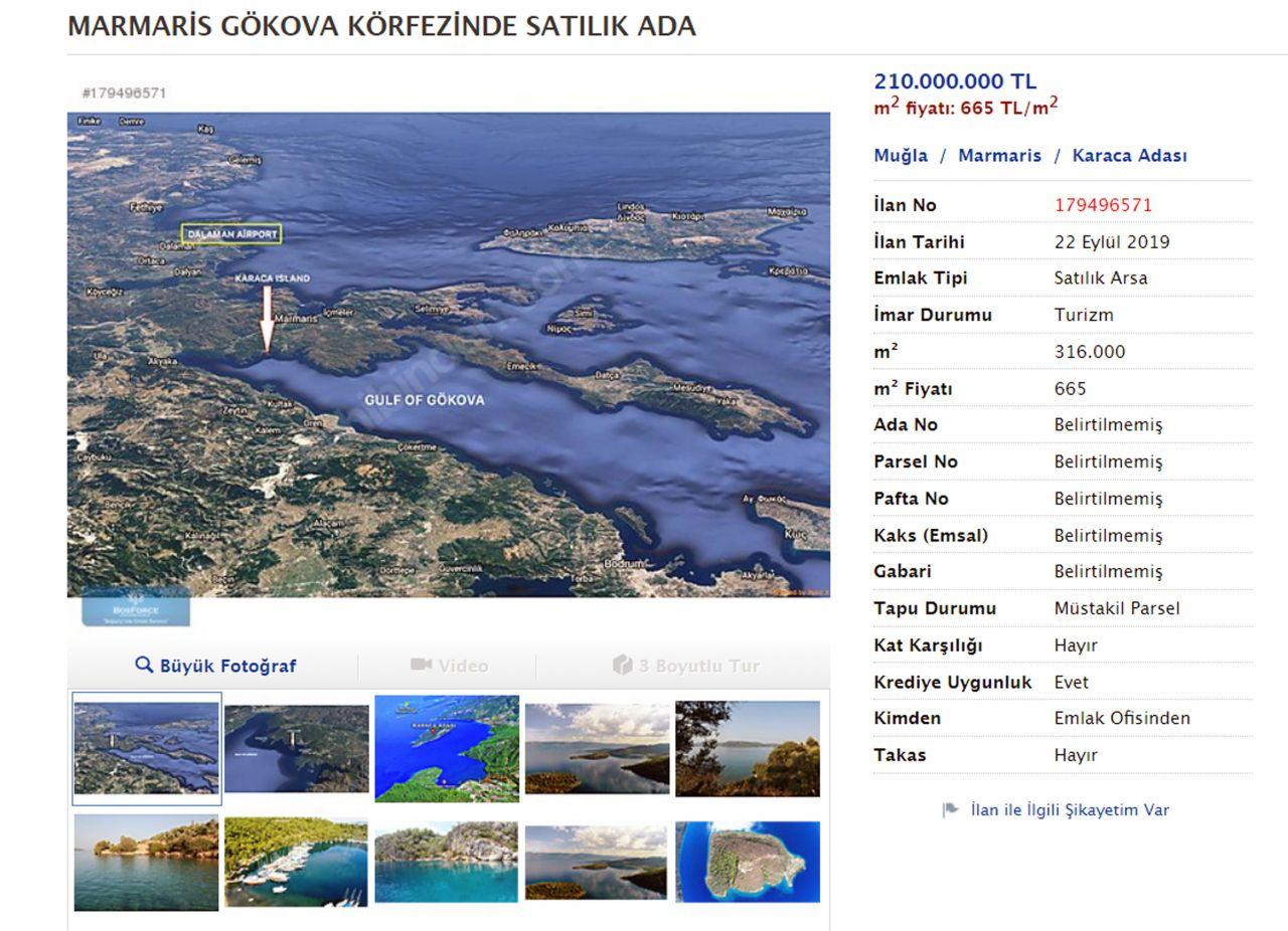 Sahibinden satılık ada... Bu ilanlar Türkiye'den - Sayfa 3