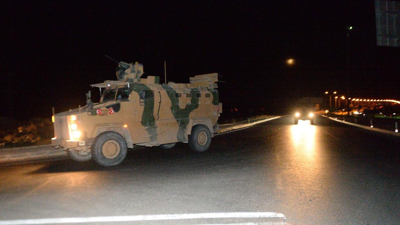 Sınıra askeri sevkiyat sürüyor!