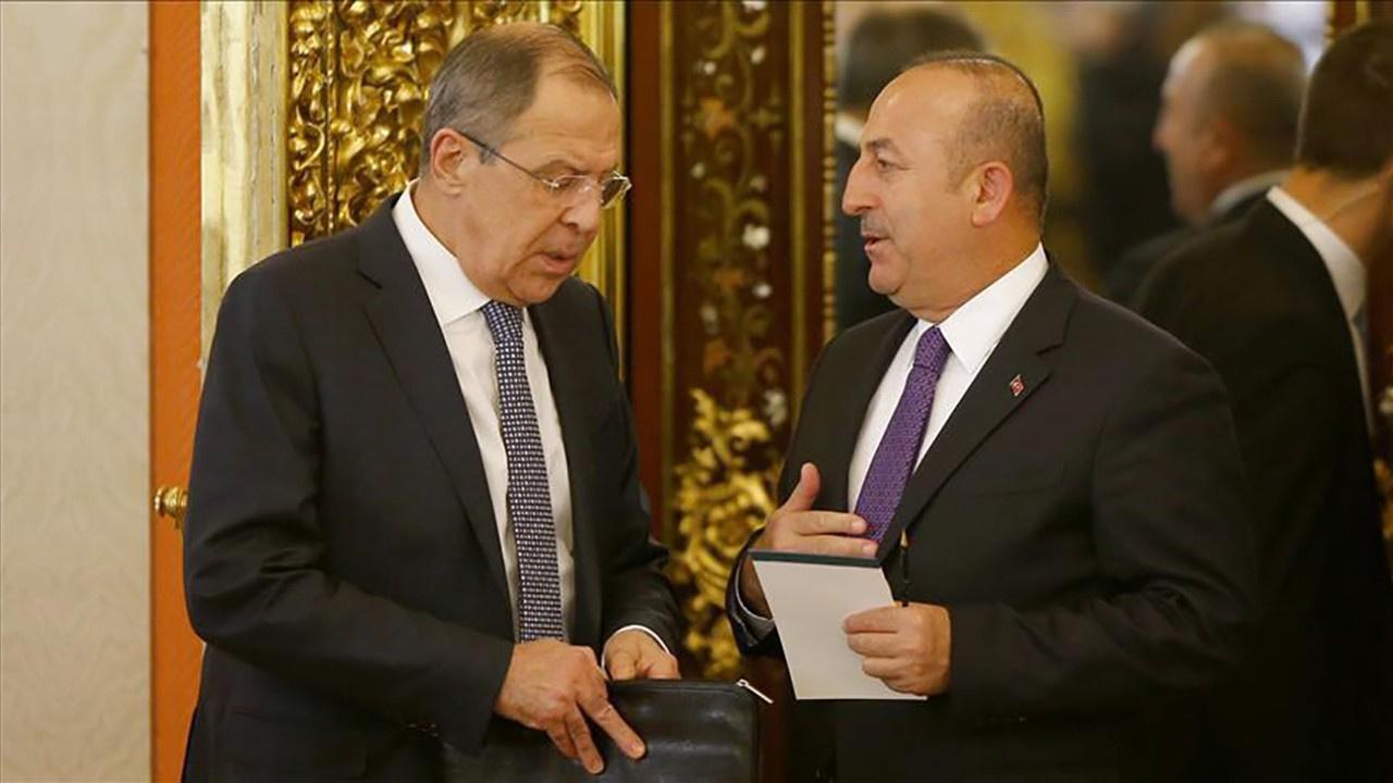 Sergey Lavrov ve Çavuşoğlu'ndan açıklamalar