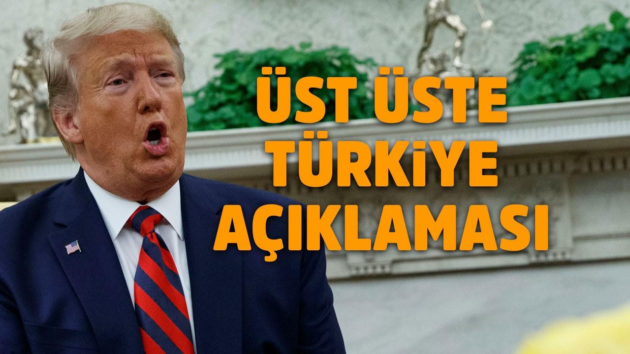 Trump'tan son dakika Erdoğan açıklaması