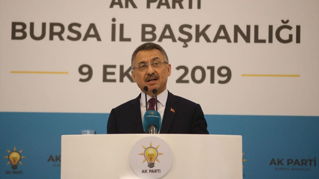 Fuat Oktay'dan 'Barış Pınarı Harekatı' açıklaması