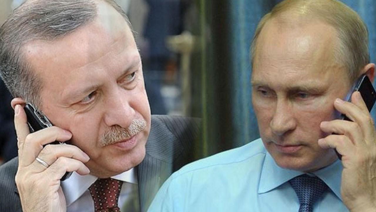 Erdoğan-Putin arasında 'harekat' görüşmesi