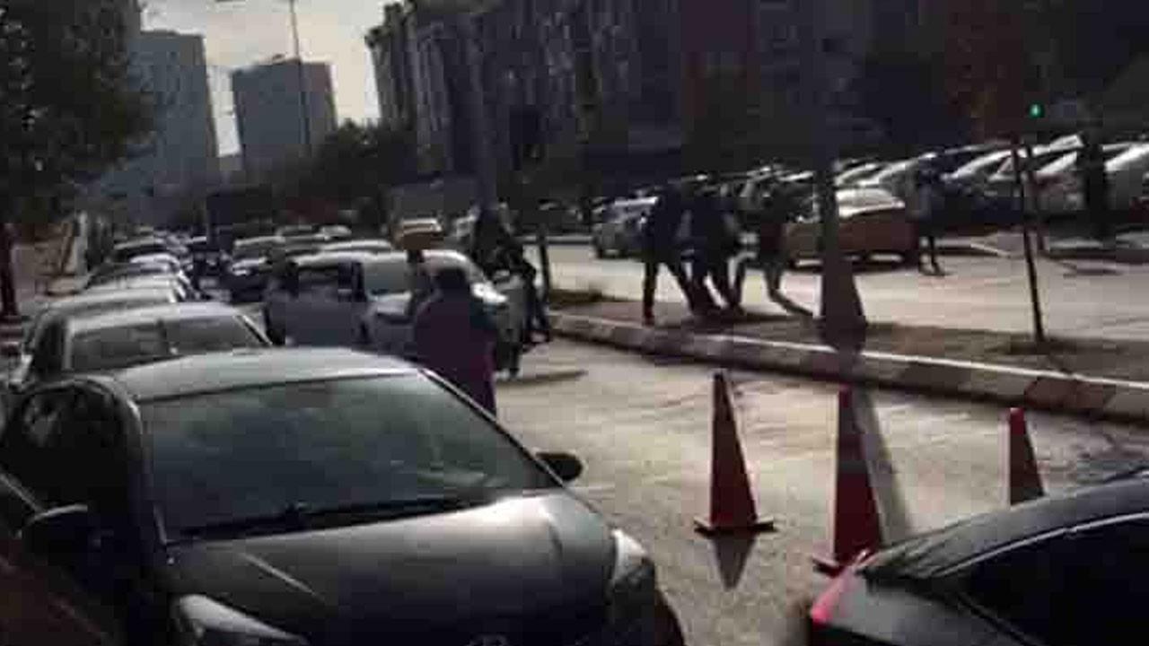 Anadolu Adliyesi önünde silahlı çatışma!.. Ağır yaralılar var!