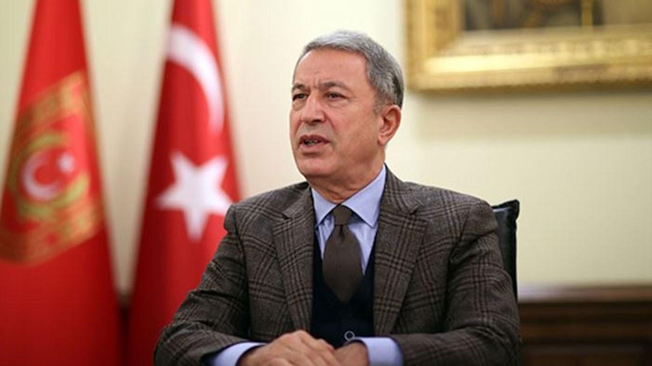 Bakan Akar'dan 'Barış Pınarı Harekatı' açıklaması