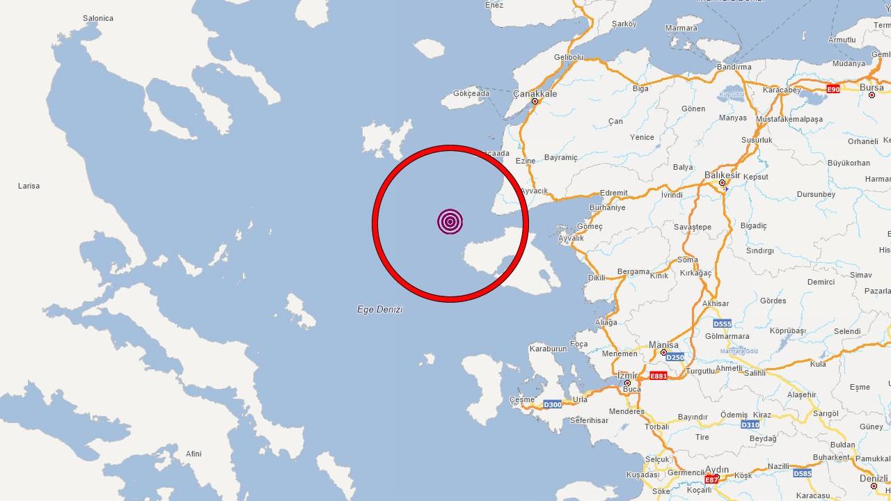 Ege Denizi beşik gibi sallanıyor!.. Yerin 28.56 ve 7 kilometre derinliğinde gerçekleşti!