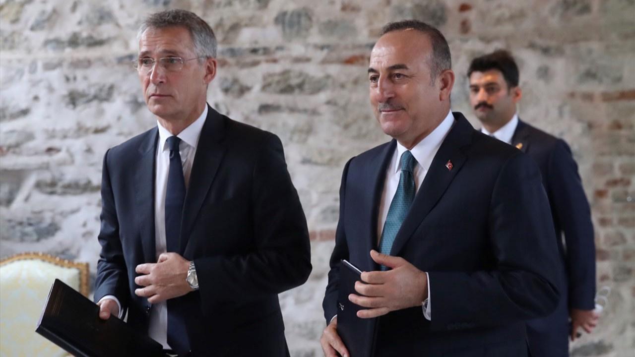 Bakan Mevlüt Çavuşoğlu, NATO Genel Sekreteri ile görüştü