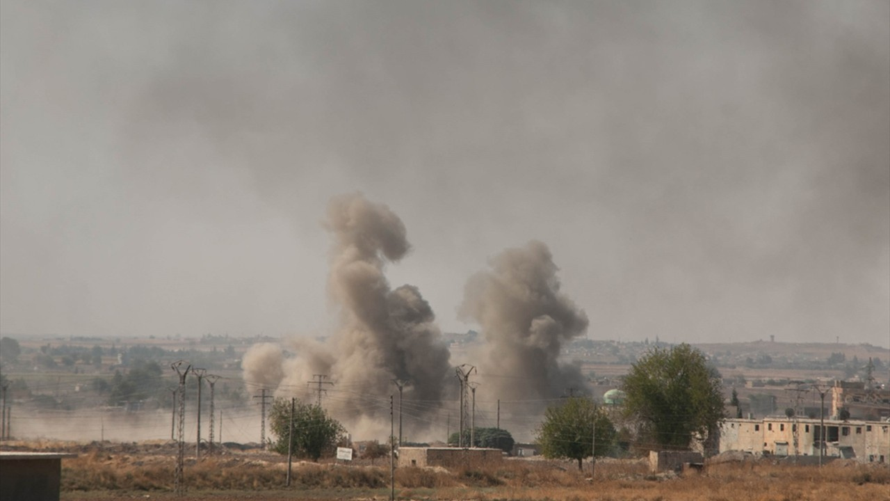 Rasulayn'da terör hedefleri obüslerle vuruluyor