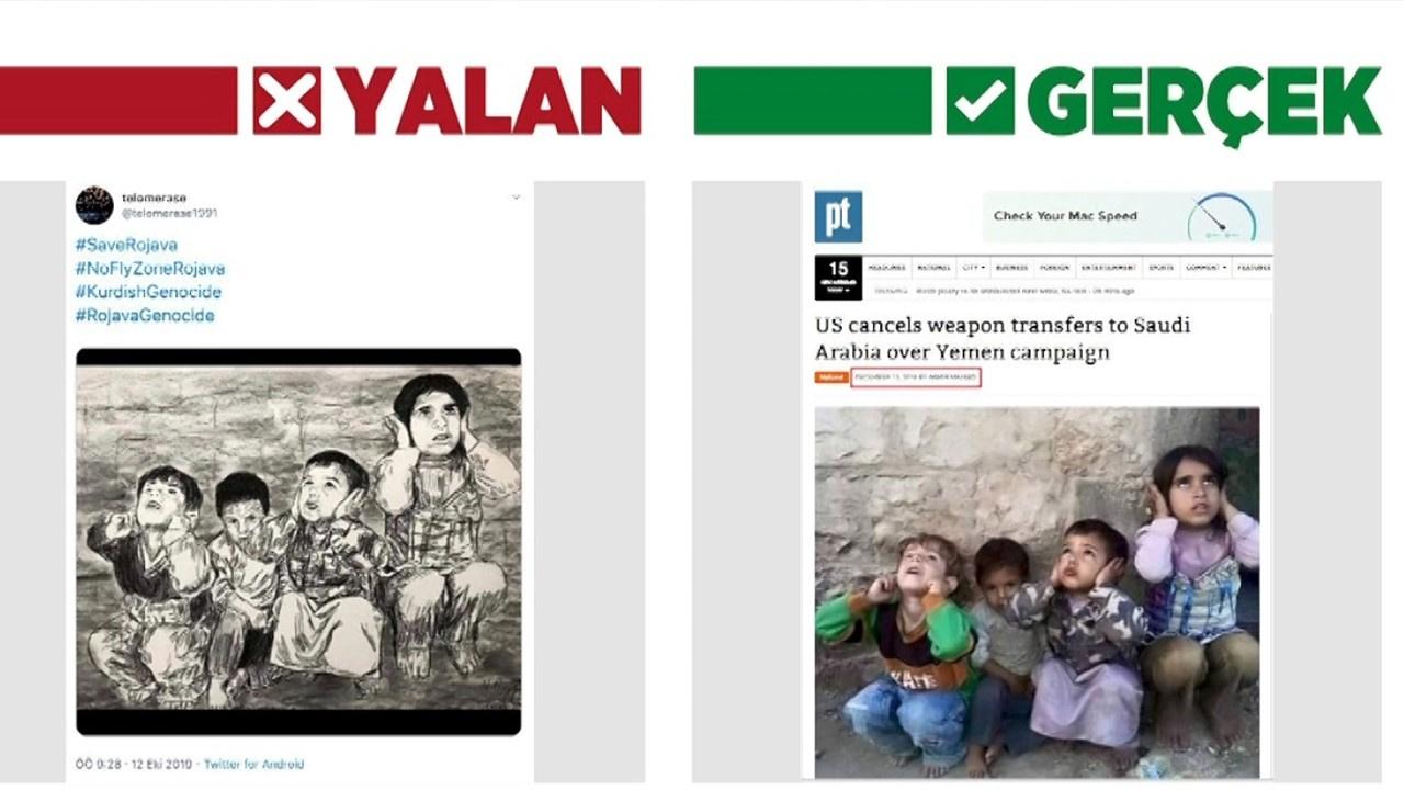 Terör örgütü sempatizanlarının yalan fotoğrafları...