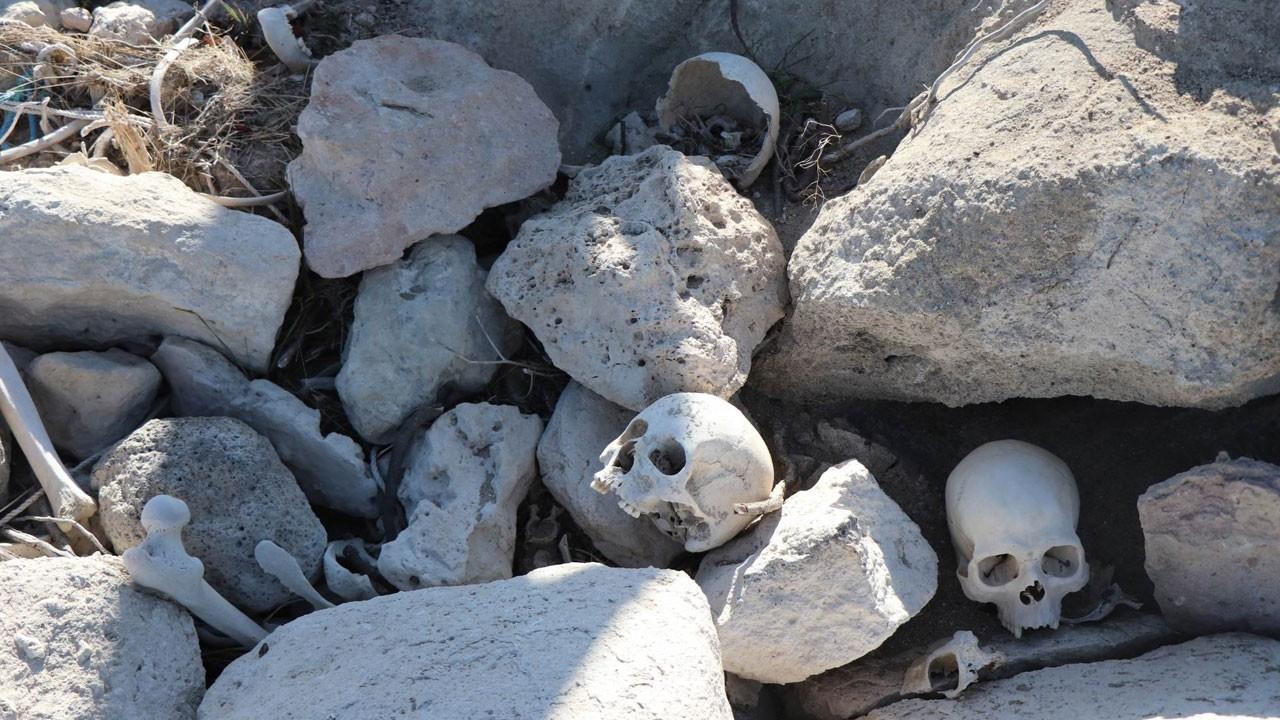 Kayseri'de tüyler ürperten görüntü
