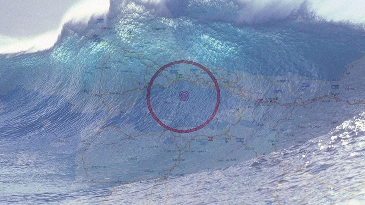 Tsunami uzmanından Marmara için korkutan uyarı: Dalgalar 3-6 metre olabilir!