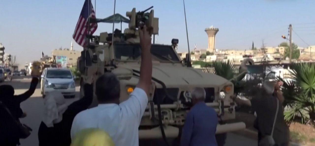 Teröristler Kamışlı'dan çekilen ABD askeri konvoyuna saldırdı - Sayfa 2