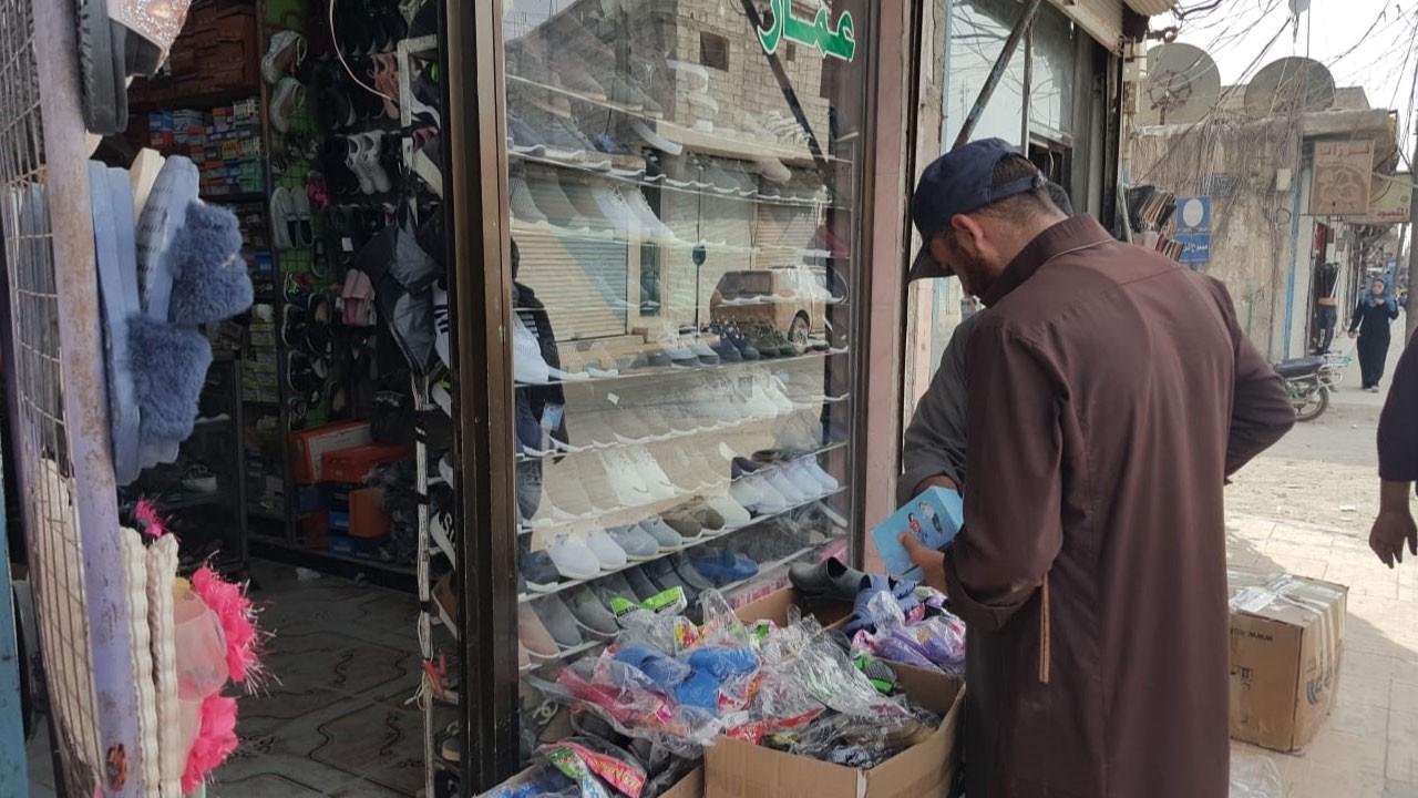 Tel Abyad'da hayat normale döndü