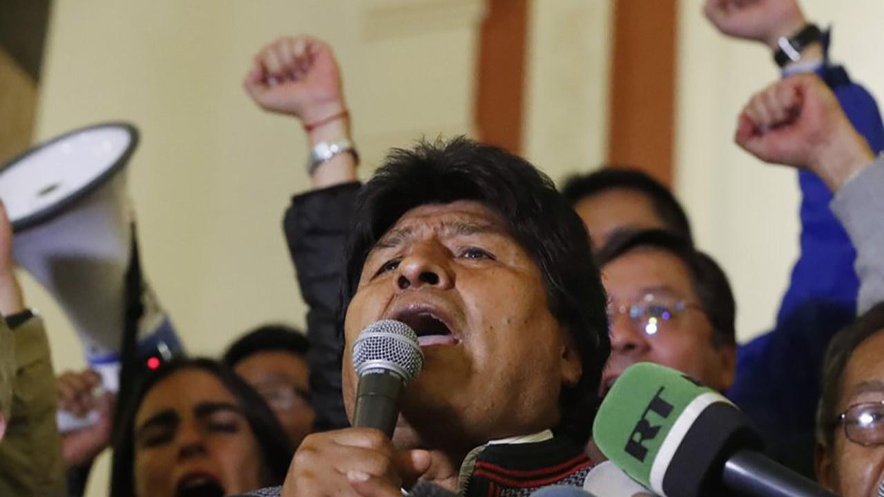 Bolivya Devlet Başkanı Evo Morales görevini bıraktı