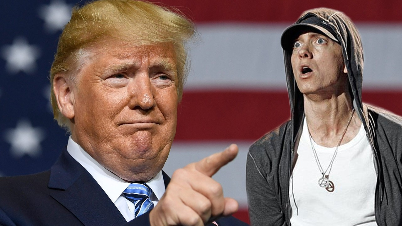 Ünlü rapçi Eminem'e Trump sorgusu!