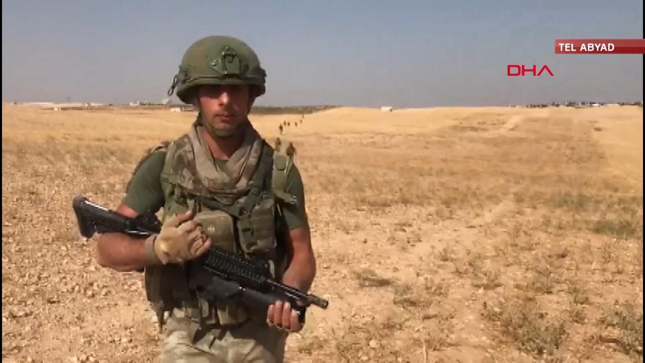 Türk Askeri Suriye'de tuzakları temizliyor