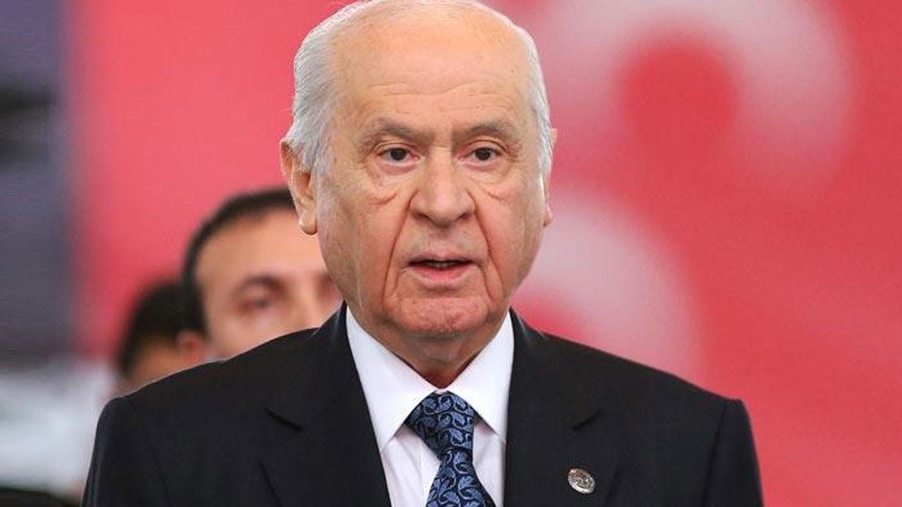 Bahçeli'den, Külliye'ye giden CHP'li' iddiasına ilişkin açıklama