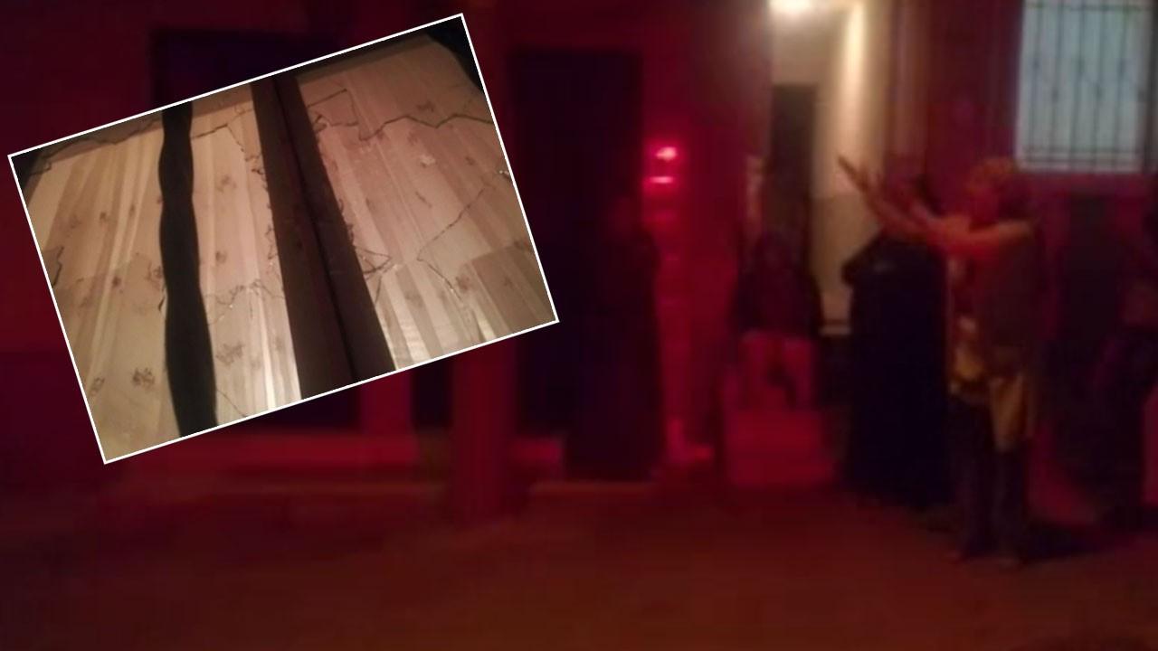 İzmir'de pompalı tüfekle saldırı!.. 3 çocuğun da bulunduğu evi kurşunladılar!