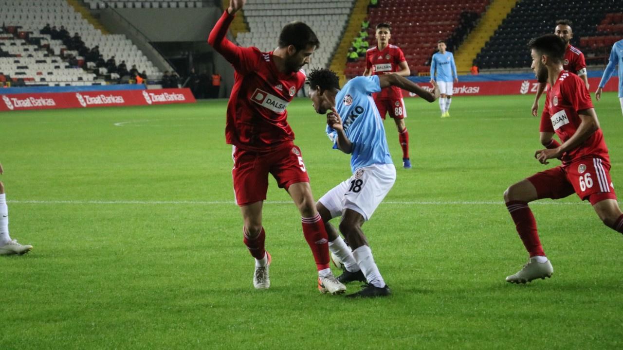 Gaziantep FK zorlanmadan kazandı