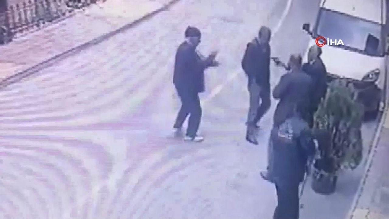 Malatya'da dehşet anları! Cinayet kamerada