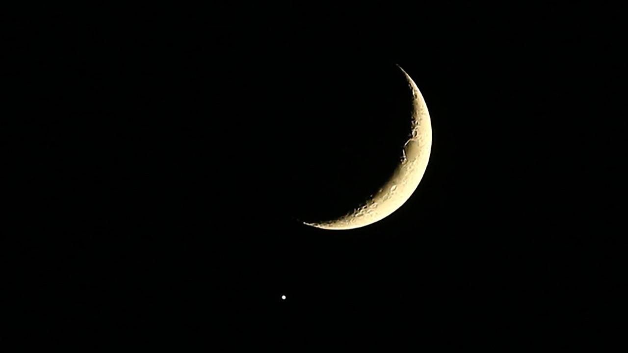 Jüpiter ve Ay, Konya'da belirdi!