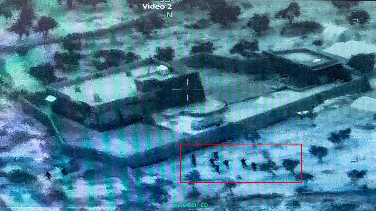 Bağdadi operasyonunun görüntüleri paylaşıldı