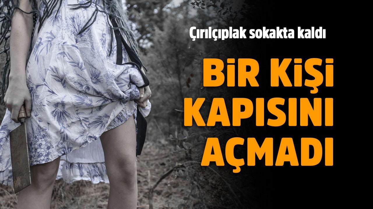 Tecavüzcünün cinsel organını kesti!