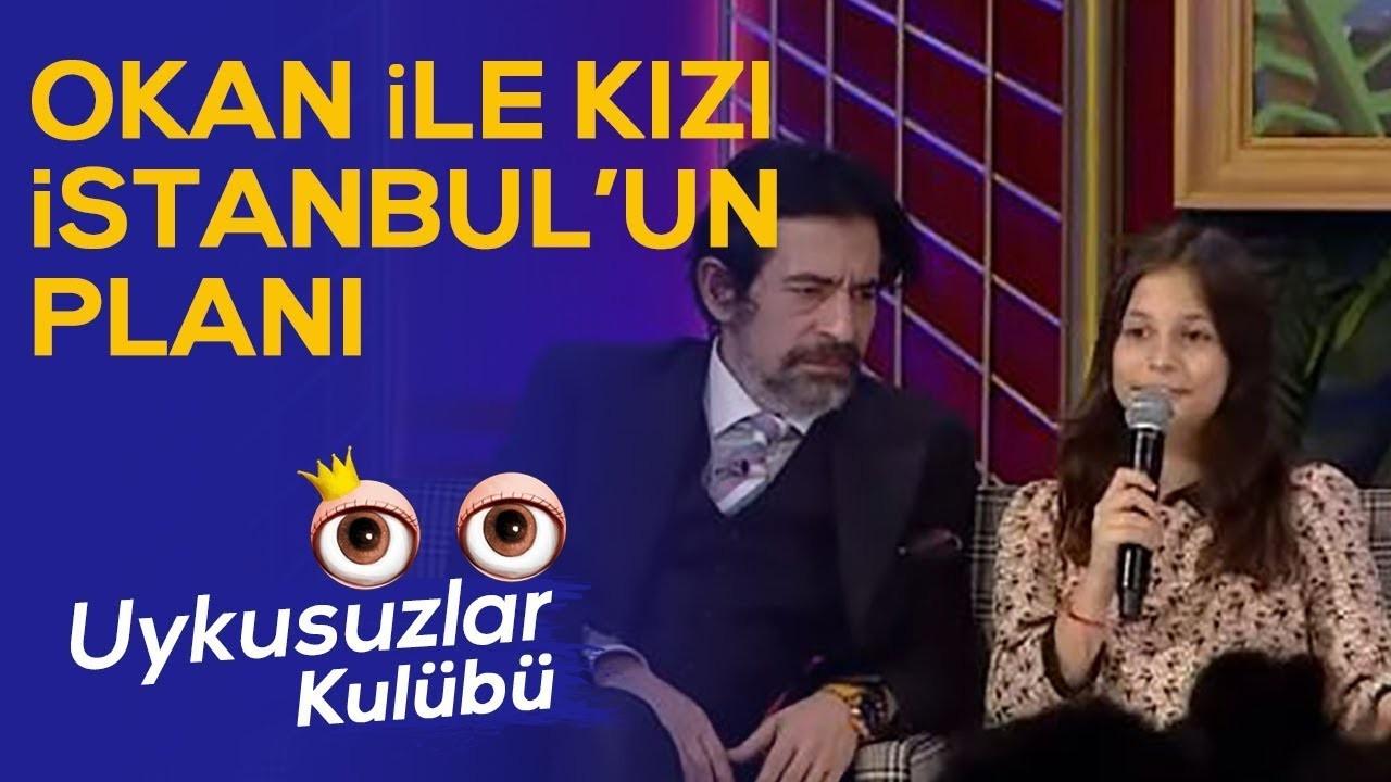 Okan Bayülgen'in kızı İstanbul'la planı
