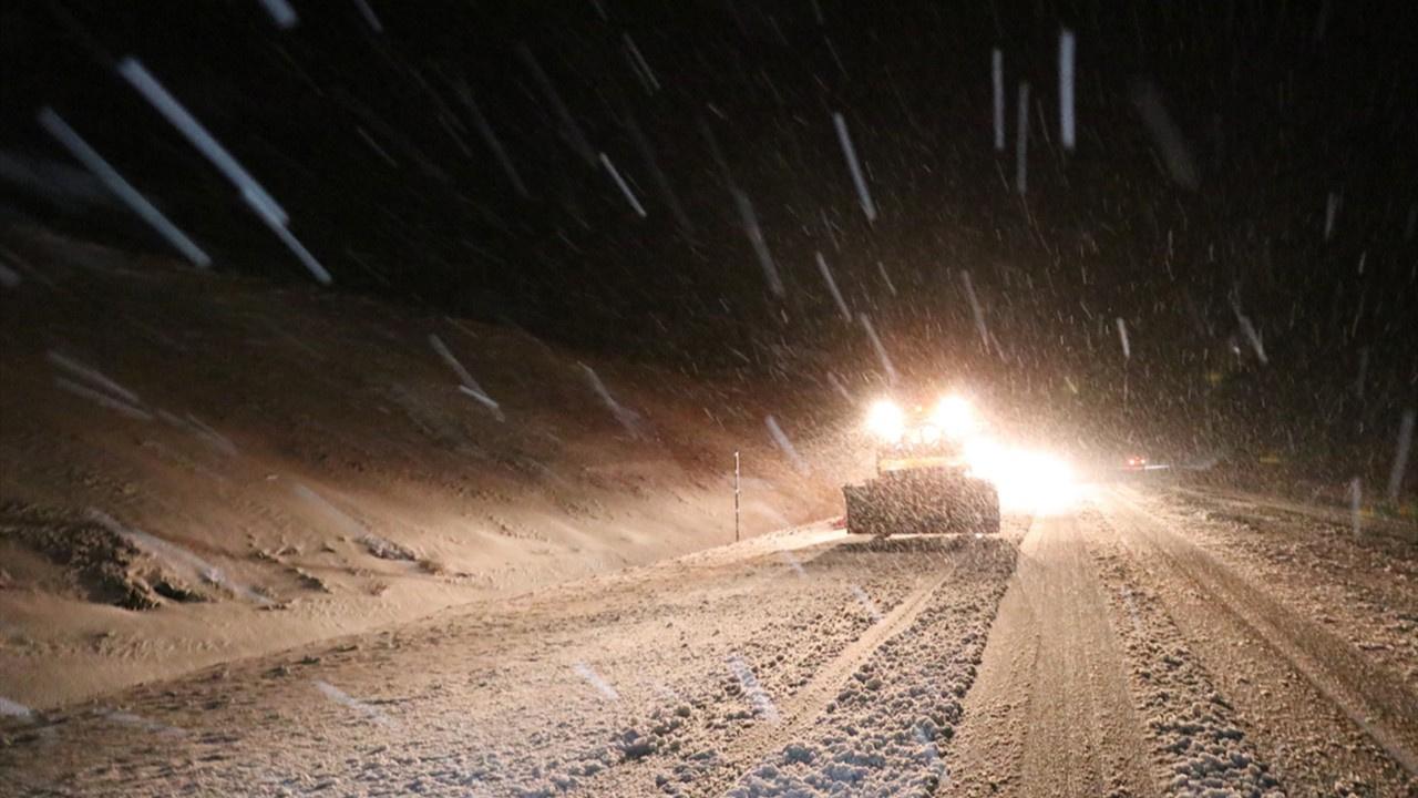 Erzincan kar ve tipiye teslim