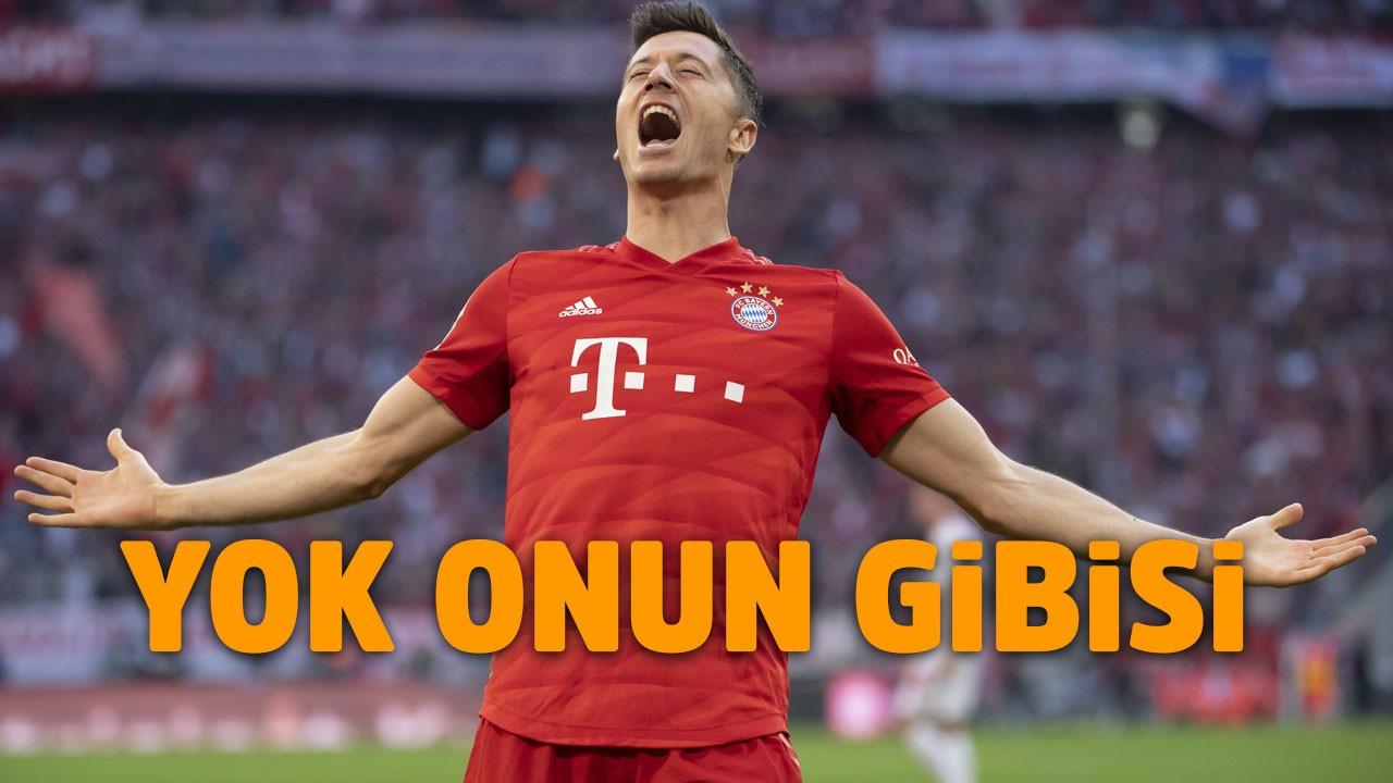 Lewandowski tarihe geçti