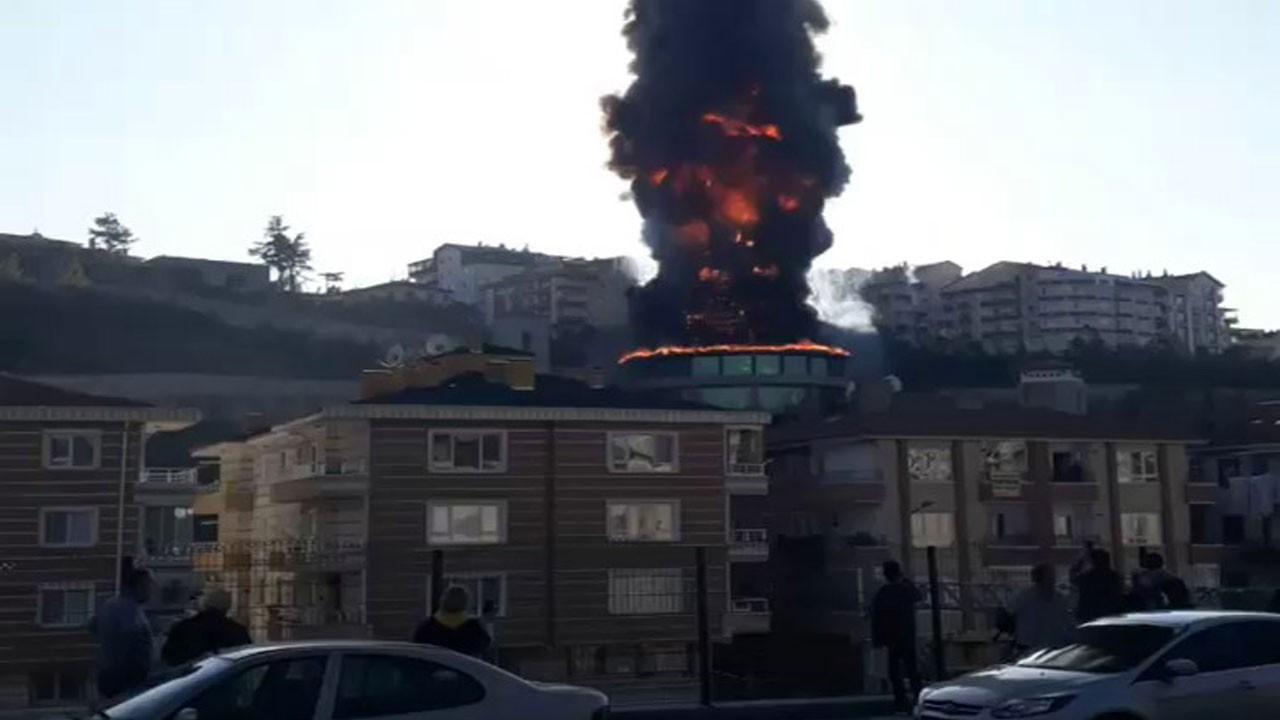 Başkent'te korkutan yangın!