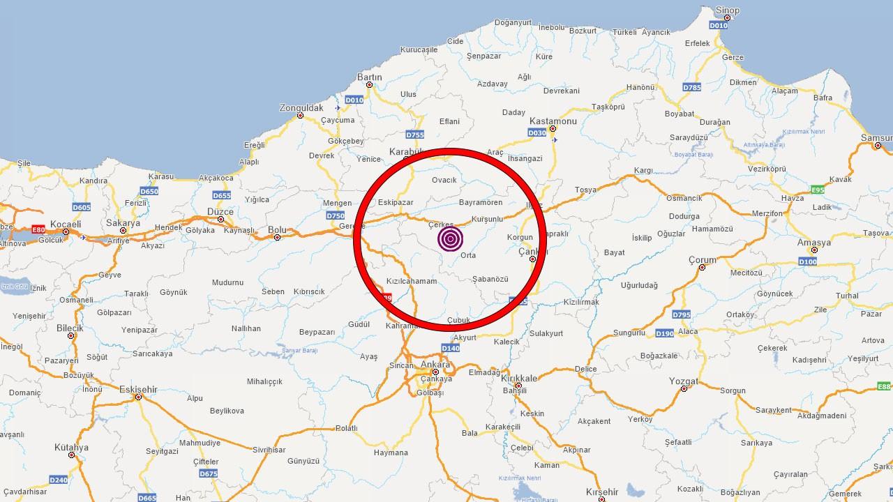 Yine Çankırı yine deprem!