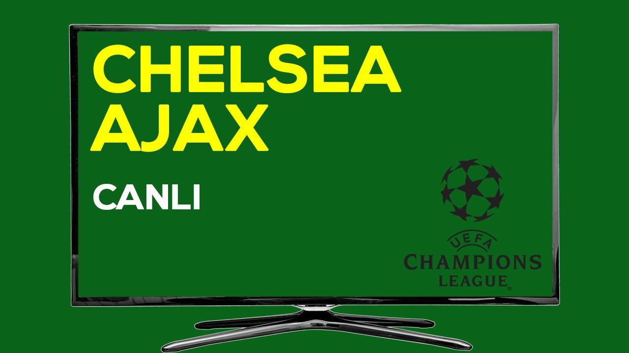 CANLI Chelsea Ajax