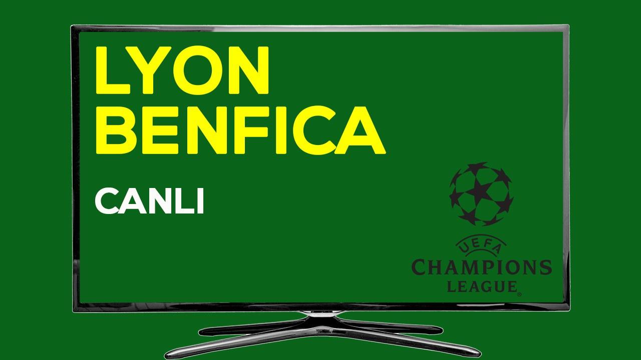 CANLI Lyon Benfica
