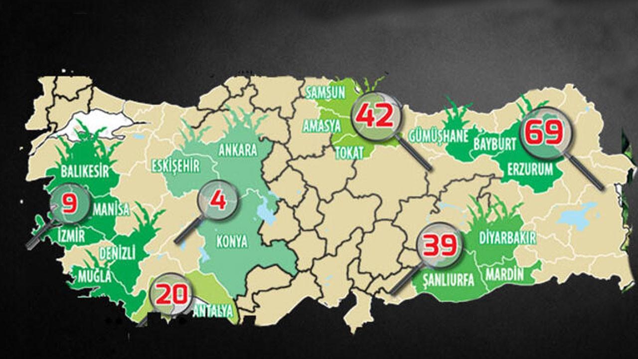 İşte Türkiye'nin yabancı ot haritası
