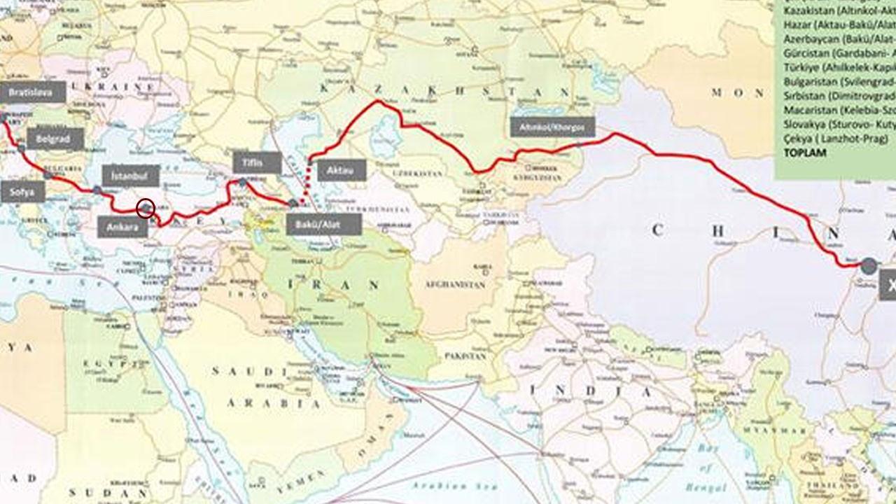 Çin'den yola çıktı, bugün Ankara'ya ulaştı