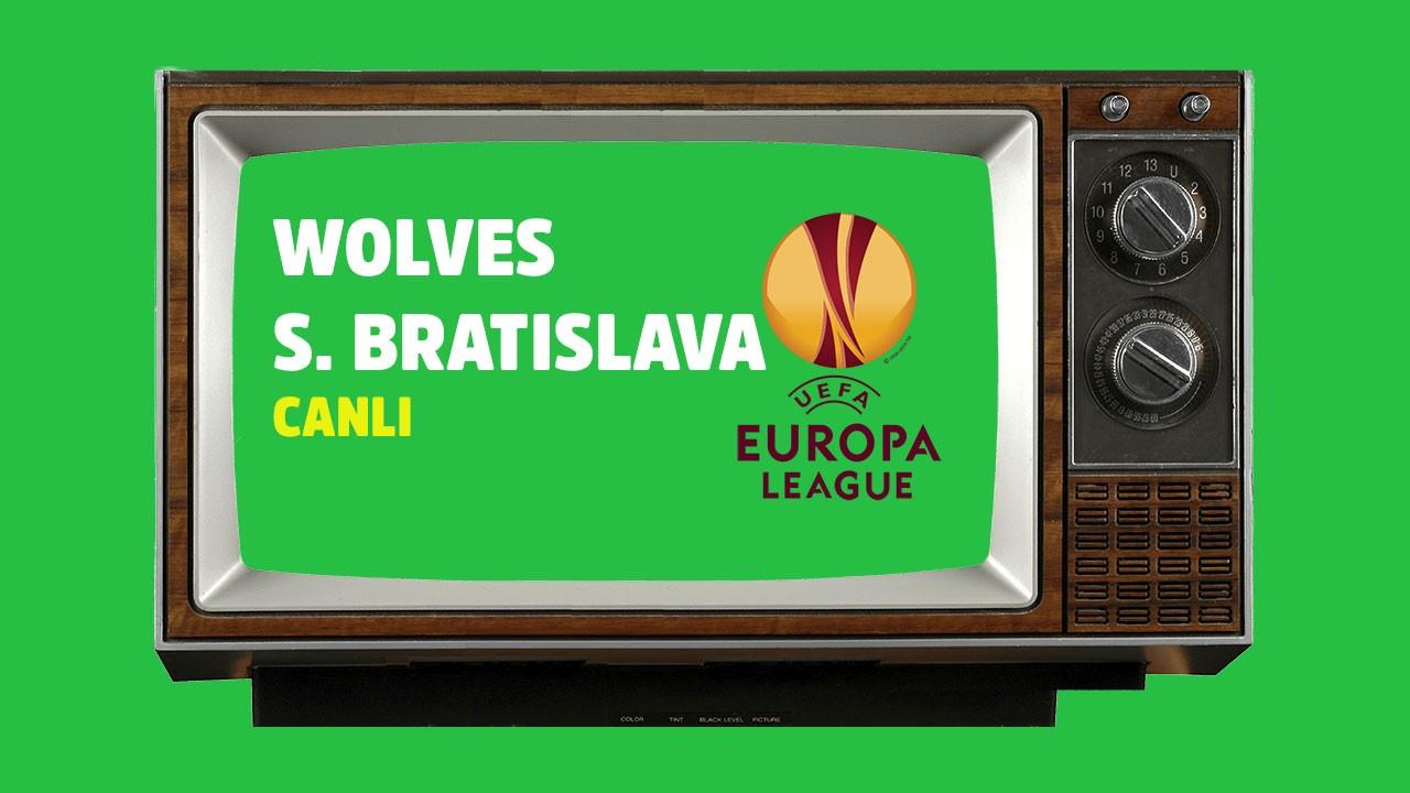 CANLI Wolves Slovan Bratislava